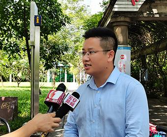深圳离婚律师欧阳春,接受电视台采访